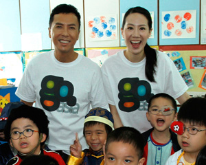 "Donnie Yen & Cissy Wang support Asia new charity online platform – Go.Asia (www.go.asia) to prove to the world that ""Every Act Counts"""