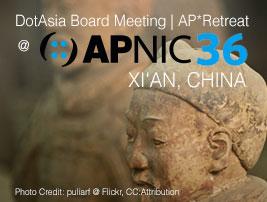 APNIC 36, Xian