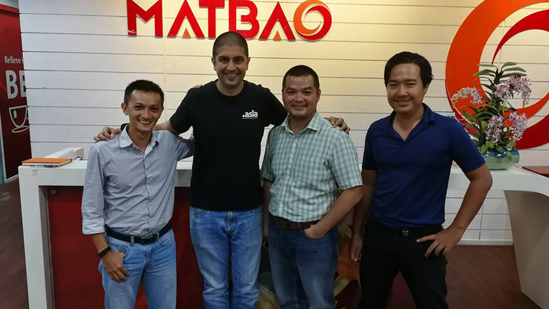 Photo: A visit to MatBao in Ho Chi Minh City