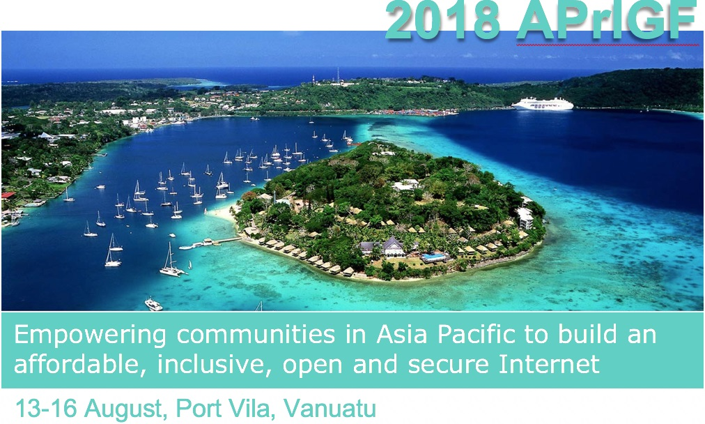 Register for APrIGF Vanuatu 2018 Now!
