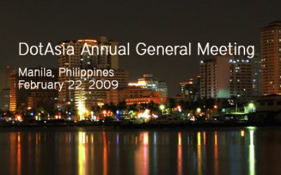 DotAsia AGM 2009, Manilla