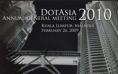 DotAsia AGM 2010, Kuala Lumpur