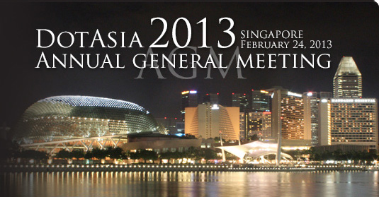 DotAsia AGM 2013, Singapore