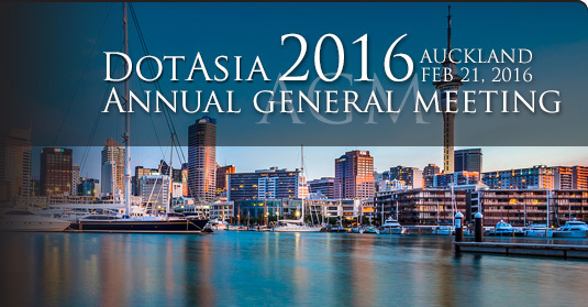 DotAsia AGM 2016, Auckland