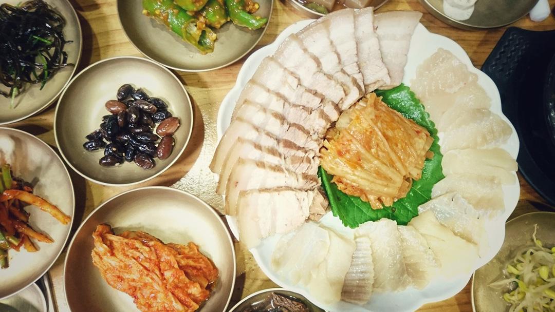 Fermented Skate Fish (Hongeo-hoe 홍어회), Seoul, South Korea