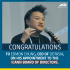 Congratulations Edmon!