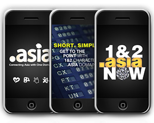 "ONE and TWO character web addresses available for first time under "".asia"" domain names"