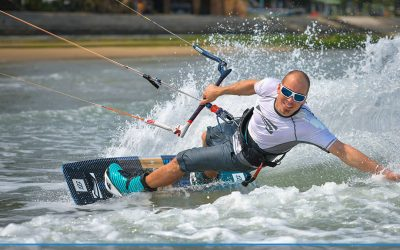 Kiteboarding Youth Olympic Hopefuls Shine for Asia